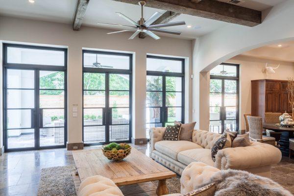 English Modern Living Room