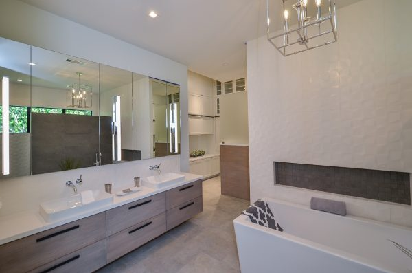 English Modern Master Bathroom