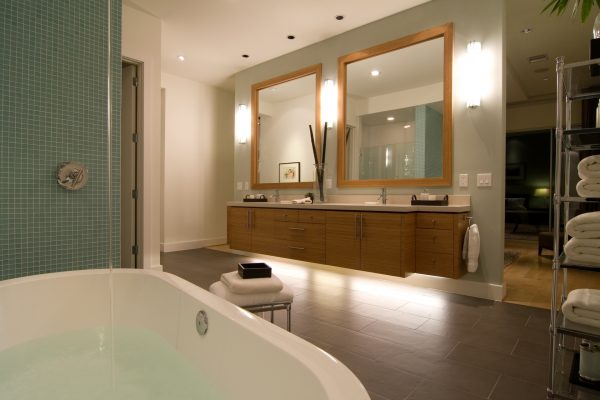 Lake Street Modern Master Bath