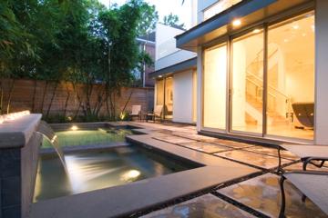 Lake Street Modern Pool