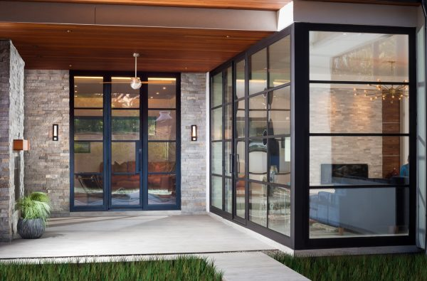 Prairie Modern Covered Patio