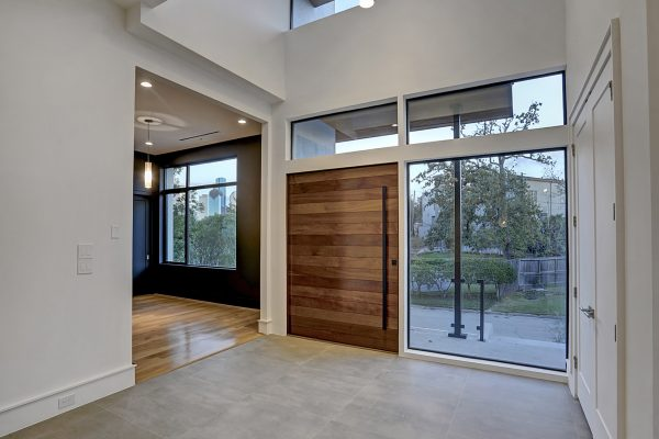 Modern Topography Houston Home Foyer