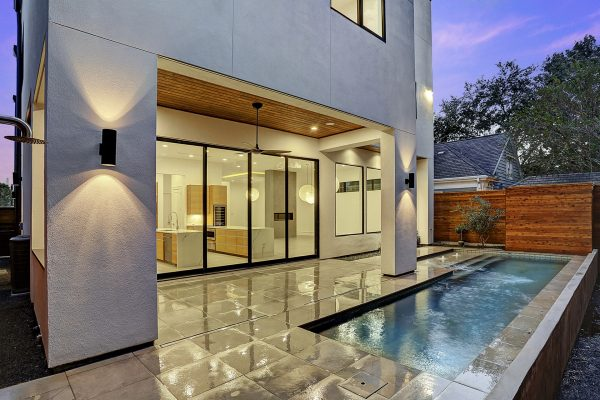 Modern Topography Houston Home Pool