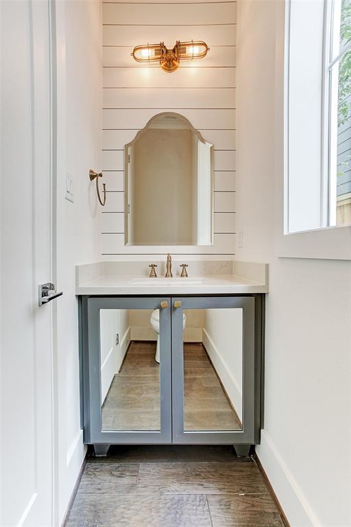 Farmhouse Modern Half-bath