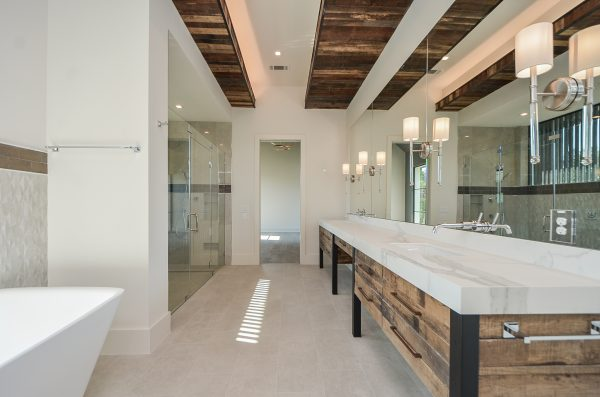 Scandinavian Inspired Master Bath