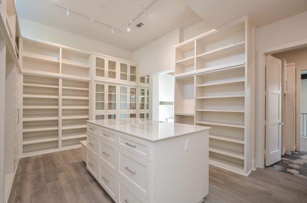 Scandinavian Inspired Master Closet